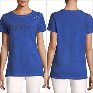 Prince Peter Collection Rebel Heart Distressed Tee
